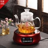養生壺 110v電陶爐美國日本台灣不挑壺電茶爐玻璃壺養生茶壺煮茶器電磁爐 MKS 卡洛琳