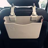 车载垃圾桶 多功能車載垃圾桶掛式折疊儲物盒創意汽車用雨傘收納袋車內置物盒