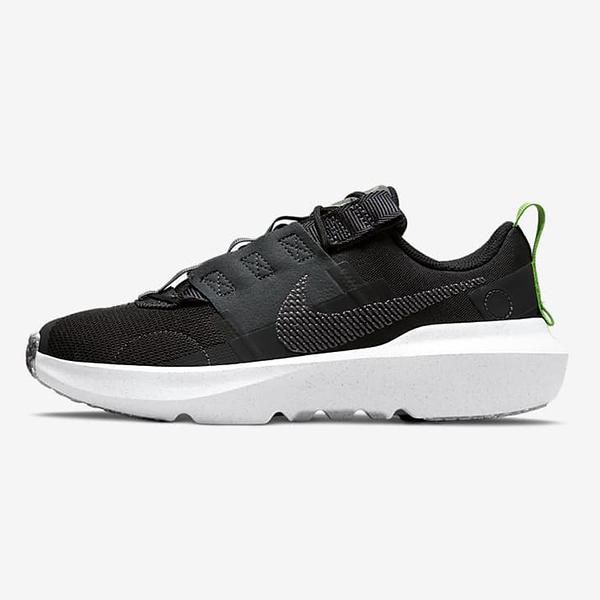 Nike Crater Impact GS 女鞋 大童 休閒 輕量 透氣 環保理念 黑【運動世界】DB3551-001