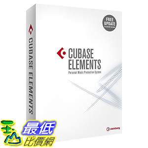 [107美國直購] 2018美國暢銷軟體 Steinberg Cubase Elements 9 Recording Software