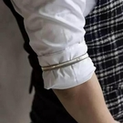 袖環臂環手環壓袖環固袖環袖箍彈簧圈花式調酒師配件飾品 黛尼時尚精品