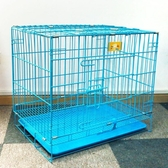 狗籠子 泰迪帶廁所狗狗籠子中型小型大型犬帶廁所 通用 貓籠兔籠45*30*38公分jy
