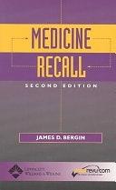二手書博民逛書店 《Medicine Recall》 R2Y ISBN:0781736765│Lippincott Williams & Wilkins