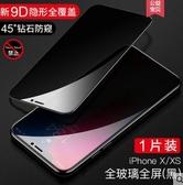 蘋果x鋼化膜iPhoneXR防窺手機膜7plus全覆蓋8p防偷看膜防透窺 聖誕交換禮物