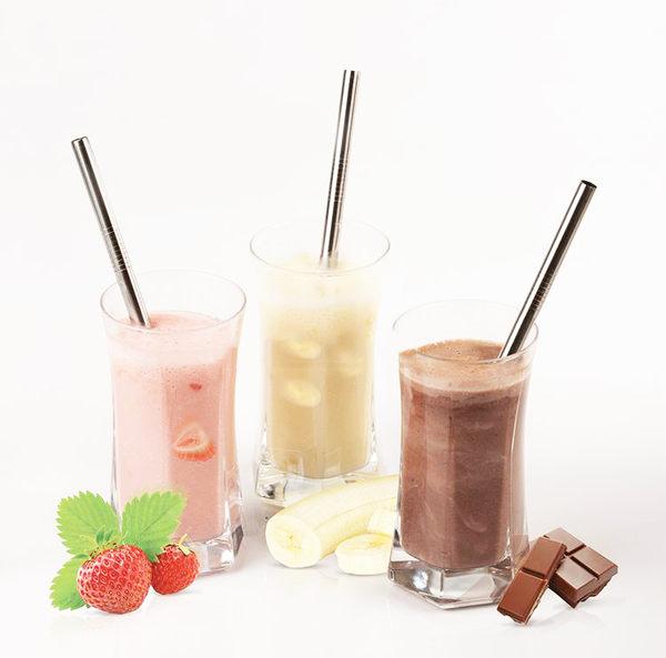 Qmishop 不鏽鋼環保吸管 果汁攪拌棒 咖啡 珍珠奶茶吸管 飲料吸管【J290】