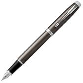 PARKER派克 NEW IM金屬灰白夾鋼筆