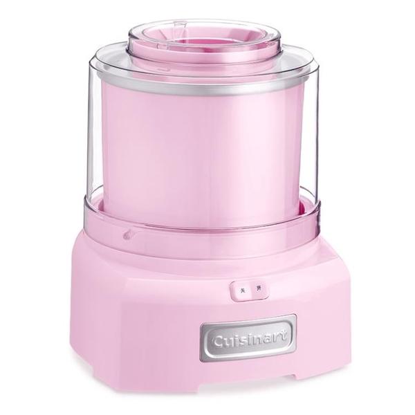 冰淇淋機 Cuisinart/美膳雅冰淇淋機家用小型自動制作水果酸奶兒童冰激凌機 WJ小宅君嚴選