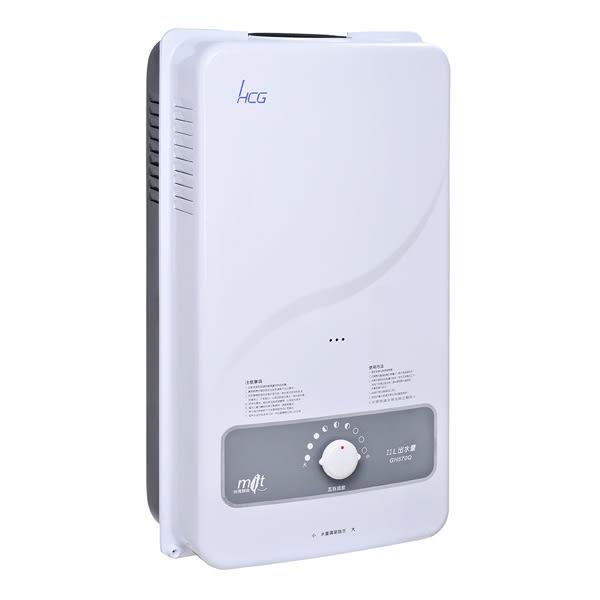 和成HCG 多重安全裝置屋外型熱水器11L GH570Q-NG (天然瓦斯)