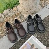 娃娃鞋可愛大頭娃娃鞋2020秋季新款日系圓頭ins小皮鞋女復古韓版百搭單 交換禮物