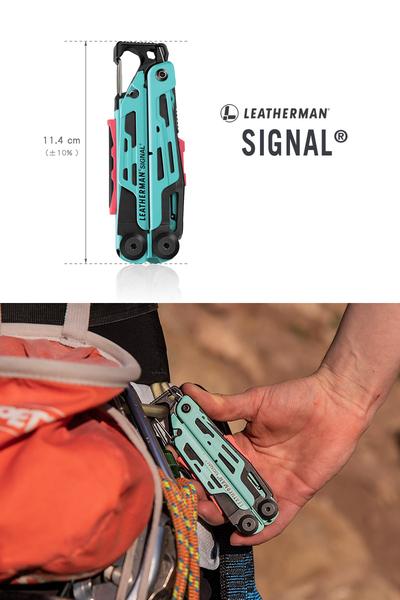 美國Leatherman SIGNAL 水波綠工具鉗(公司貨)#832733