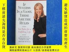 二手書博民逛書店If罕見Success Is A Game,These Are The Rules(Ten Rules for a