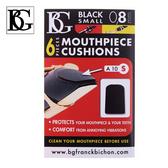 【小麥老師 樂器館】BG A10S 吹嘴護片 黑色 0.8mm 6片裝 豎笛、高音薩克斯風適用 吹口護片 墊片