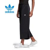 ISNEAKERS adidas orginals 愛迪達 三葉草 黑色 寬褲 運動褲 FL0029 寬版 運動長褲 素色