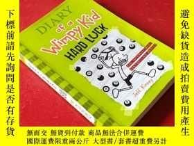 二手書博民逛書店Diary罕見of a Wimpy Kid: Hard Luck
