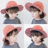 寶寶帽子夏季薄款男童太陽帽兒童漁夫帽女童遮陽帽嬰兒防曬帽夏潮 可愛童帽 女童帽