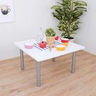 方形和室桌 矮腳桌 餐桌(寬80x高45/公分)PVC防潮材質(二色) MIT台灣製TB8080BL