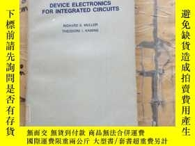 二手書博民逛書店Device罕見electronics for integrat