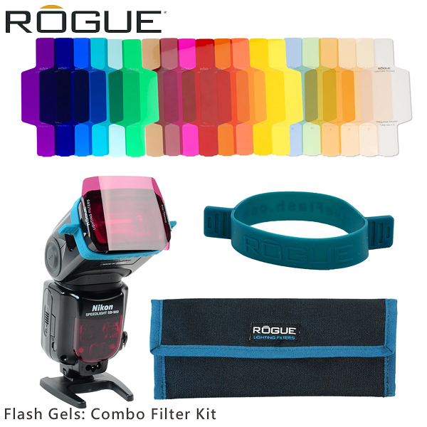 EGE 一番購】ROGUE 樂客【Flash Gels: Combo Filter】機頂通用型濾色片組 20色【公司貨】