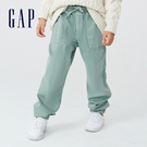 Gap女童 活力運動風寬鬆束口褲 708...