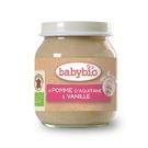 BABYBIO 有機蘋果泥/果泥130ml-法國原裝進口4個月以上嬰幼兒專屬副食品