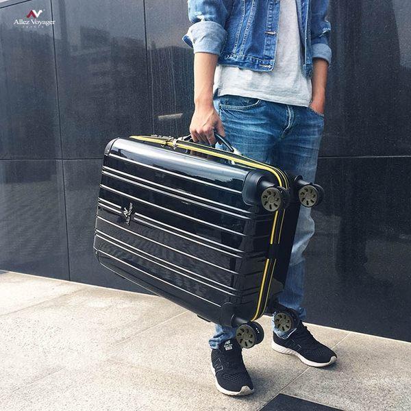 行李箱 登機箱 法國奧莉薇閣 20+24+28吋PC硬殼尊 藏典爵系列(贈送防塵套各*1)
