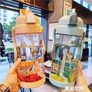 超大號2L大容量吸管塑料水杯男女運動戶外水壺帶刻度健身隨手杯子 創意新品