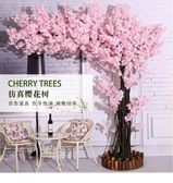 仿真樹 仿真櫻花樹假櫻花樹婚慶室內裝飾假桃樹仿真桃花樹大型許愿樹 - 歐美韓