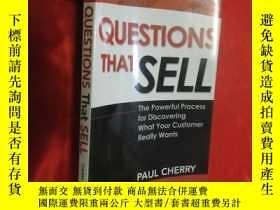 二手書博民逛書店Questions罕見That Sell: The Powerful ( 小16開 ) 【詳見圖】Y5460