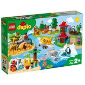 【LEGO樂高】Duplo 得寶系列 - 動物世界 #10907