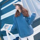 【GZ2C1】長袖帽T  BF風原宿連帽寬鬆中長款衛衣 長袖上衣