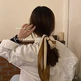 法式時髦簡約字母愛心絲巾撞色涂鴉方巾頭巾【貼身日記】
