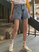 短褲 夏季2020年新款高腰顯瘦牛仔短褲女裝韓版熱褲闊腿直筒褲子寬鬆潮