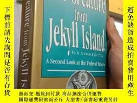 二手書博民逛書店the罕見creature from jekyll island