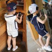 兒童夏季1歲2童夏裝男童3中小童45背心6套裝 歐韓時代