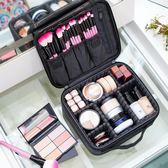 化妝包大容量專業簡約便攜小號韓國Ins網紅旅行化妝品收納包可愛QM 『美優小屋』