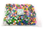 【台灣製USL遊思樂】公分公克連接方塊(10色,1000pcs) / 袋