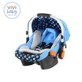 【ViVibaby】迪士尼米奇提籃安全座椅 (米奇藍)