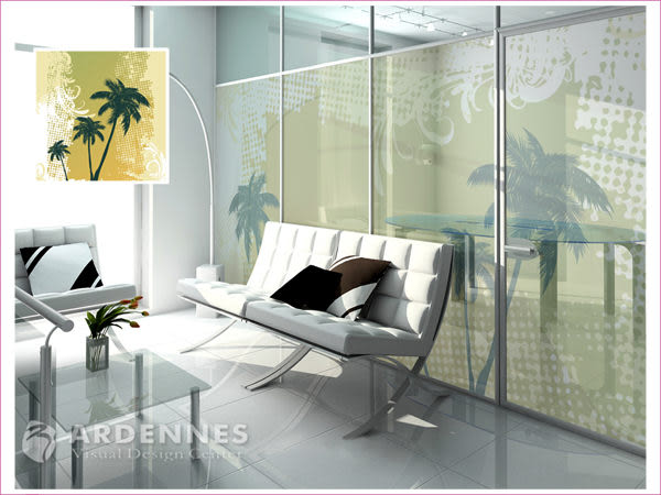 【ARDENNES】防水壁貼 壁紙 牆貼 / 磨砂面 亮面 / 玻璃透明貼紙 GS-039