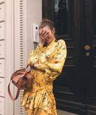 ■2018新品專櫃65折■ 全新真品Givenchy BB5015 小款 Sway 小牛皮兩用包 焦糖白蘭地色
