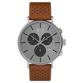TIMEX 天美時 (TXTW2R79900) 經典冷光 三眼計時手錶 /41mm
