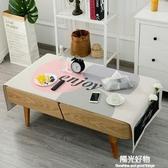 防塵罩棉麻餐桌布藝北歐茶幾桌布長方形客廳茶幾台布電視櫃蓋布 陽光好物