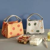 保溫袋飯盒袋手提便當包鋁箔可愛女手拎帶飯的袋子保溫包學生午餐包