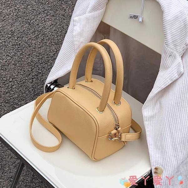 手提包 高級感洋氣小包包女2021新款潮時尚手提小方包網紅爆款百搭斜背包 愛丫 免運