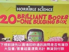 二手書博民逛書店HORRIBLE罕見SCIENCE---BULGING BOX OF BOOKS【全20冊】Y20113 Ph