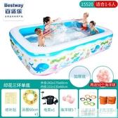 兒童充氣加厚游泳池家用大人泳池小孩嬰兒寶寶家庭洗澡池  韓慕精品 YTL