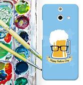 ✿ 3C膜露露 ✿ HTC One E8【啤酒先生*水晶硬殼 】手機殼 保護殼 保護套 手機套