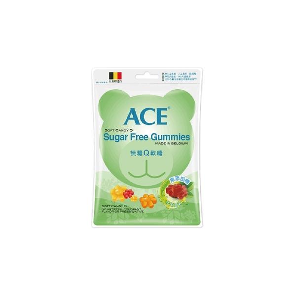 ACE軟糖 - 無糖Q軟糖 (48g) 比利時原裝進口