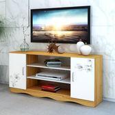 電視櫃新款電視櫃現代簡約歐式客廳臥室電視機櫃迷你小戶型地櫃 儲物櫃wy