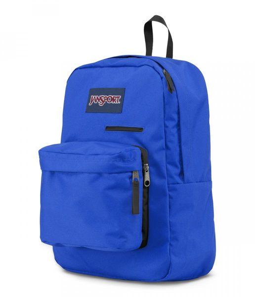 JANSPORT 電腦背包系列-旋風藍-41550(亦可容納15吋筆電)