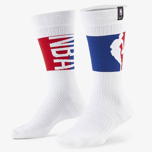 NIKE SNKR SOX 襪子 中筒襪 NBA 籃球 慢跑 透氣 緩震 一入 白【運動世界】DA5062-100